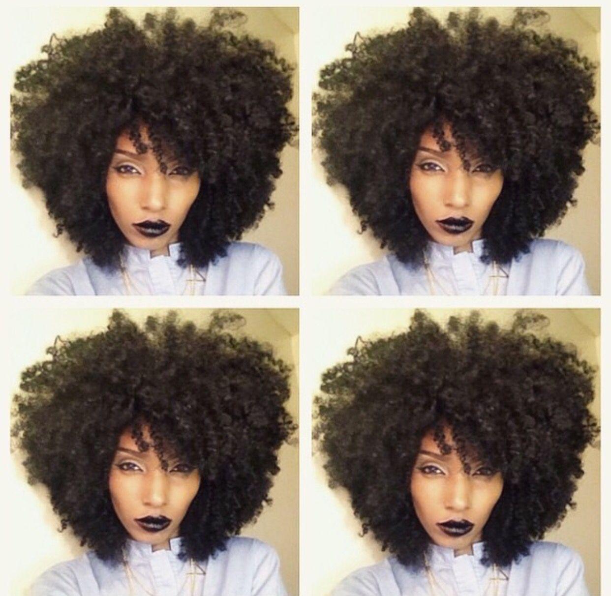 Pin On Natural Hair Coils Curls Big Hair Twa Big Chop