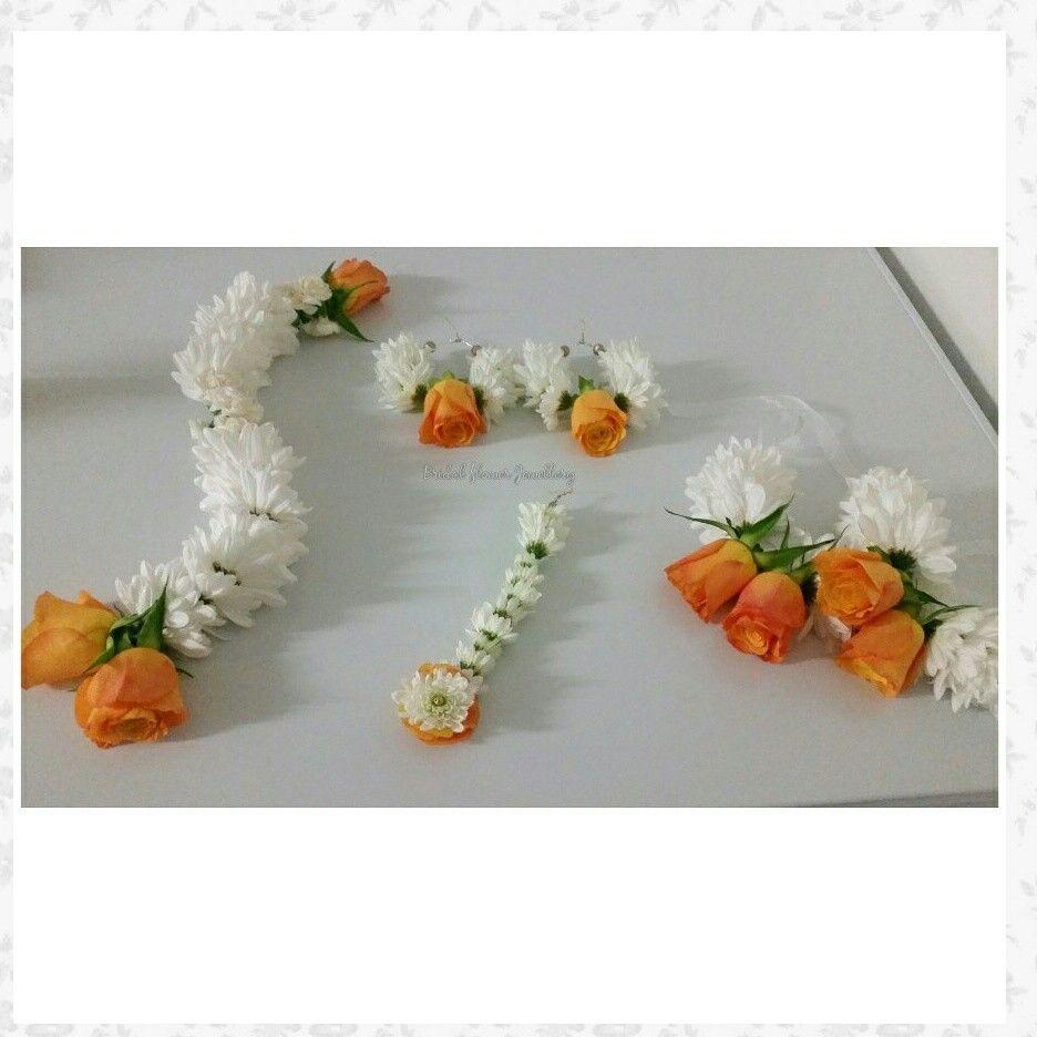 fresh flower jewellery by bridal flower jewellery www