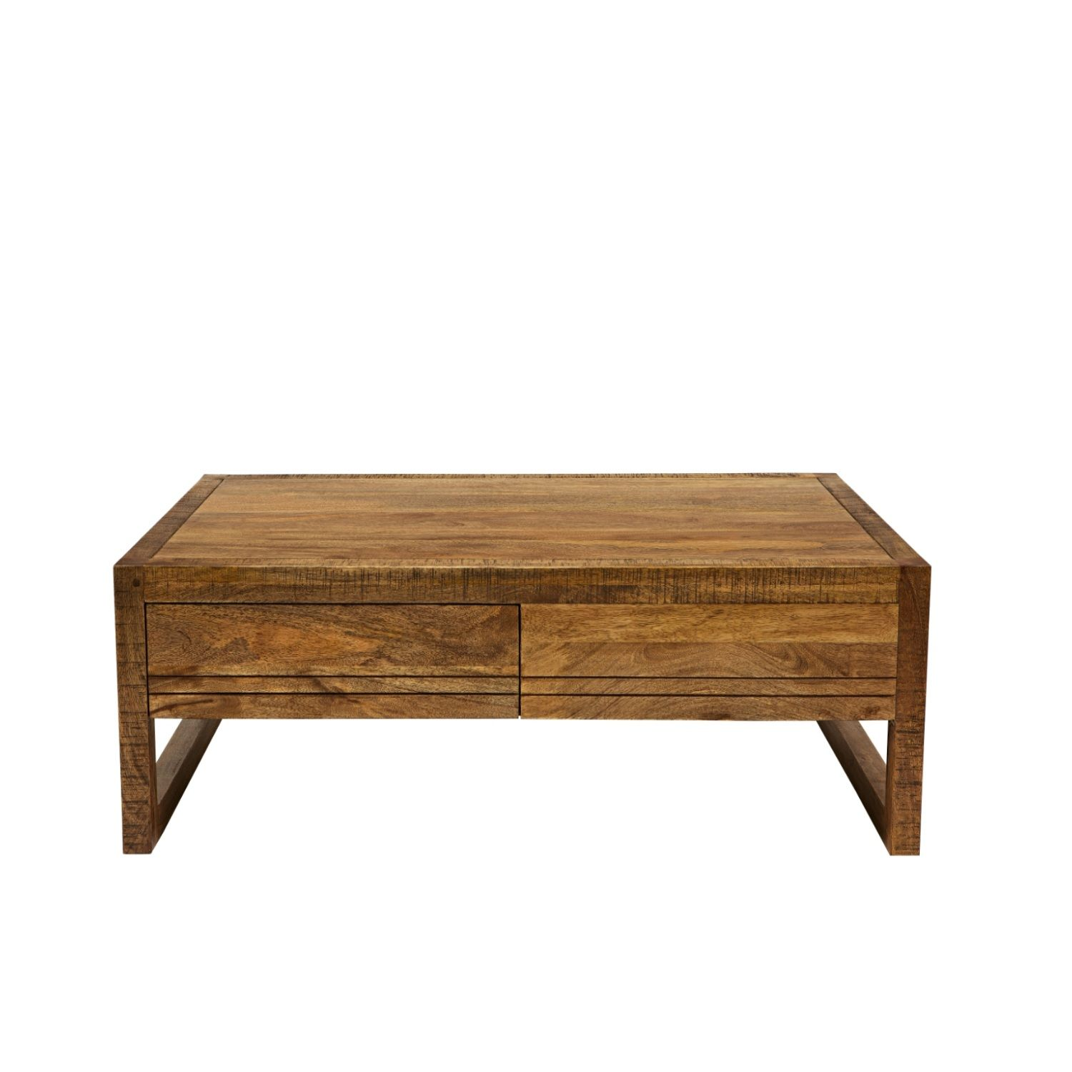 Titan 2 Drawer Coffee Table from Domayne line