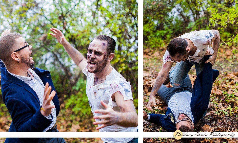 lorena-somers-makeup-artist-zombie-wedding-elopement-shoot-photographer-rain-groom-attacked
