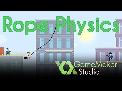 Game Maker Rope Physics Tutorial - YouTube