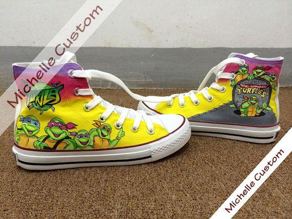 dea5a745de5d Turtles Converse