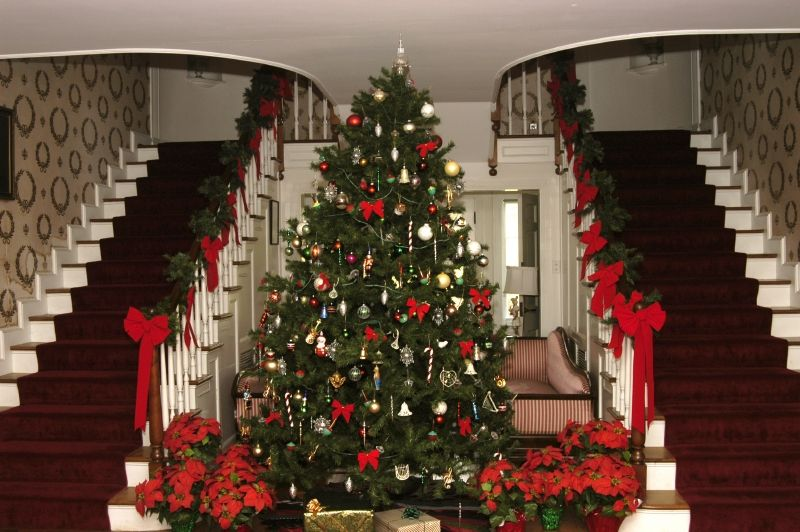 Louis Bromfield S House At Malabar Farm State Park In Ohio Christmas Travel Christmas Decorations Holidays And Events