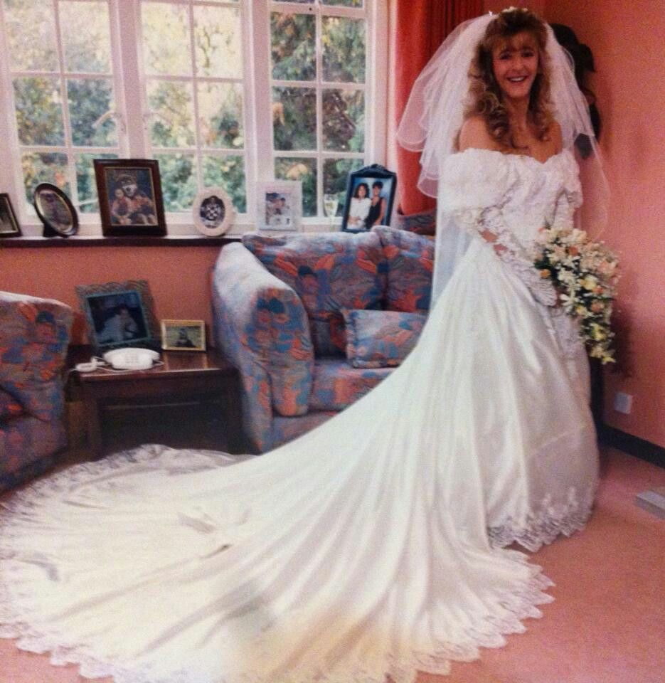 "Wedding Dress Brent Cross London 1992.""Vicki"" In 2019"