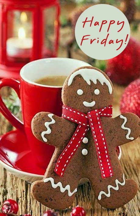 Happy Friday Christmas Cookies Christmas Gingerbread Gingerbread Cookies