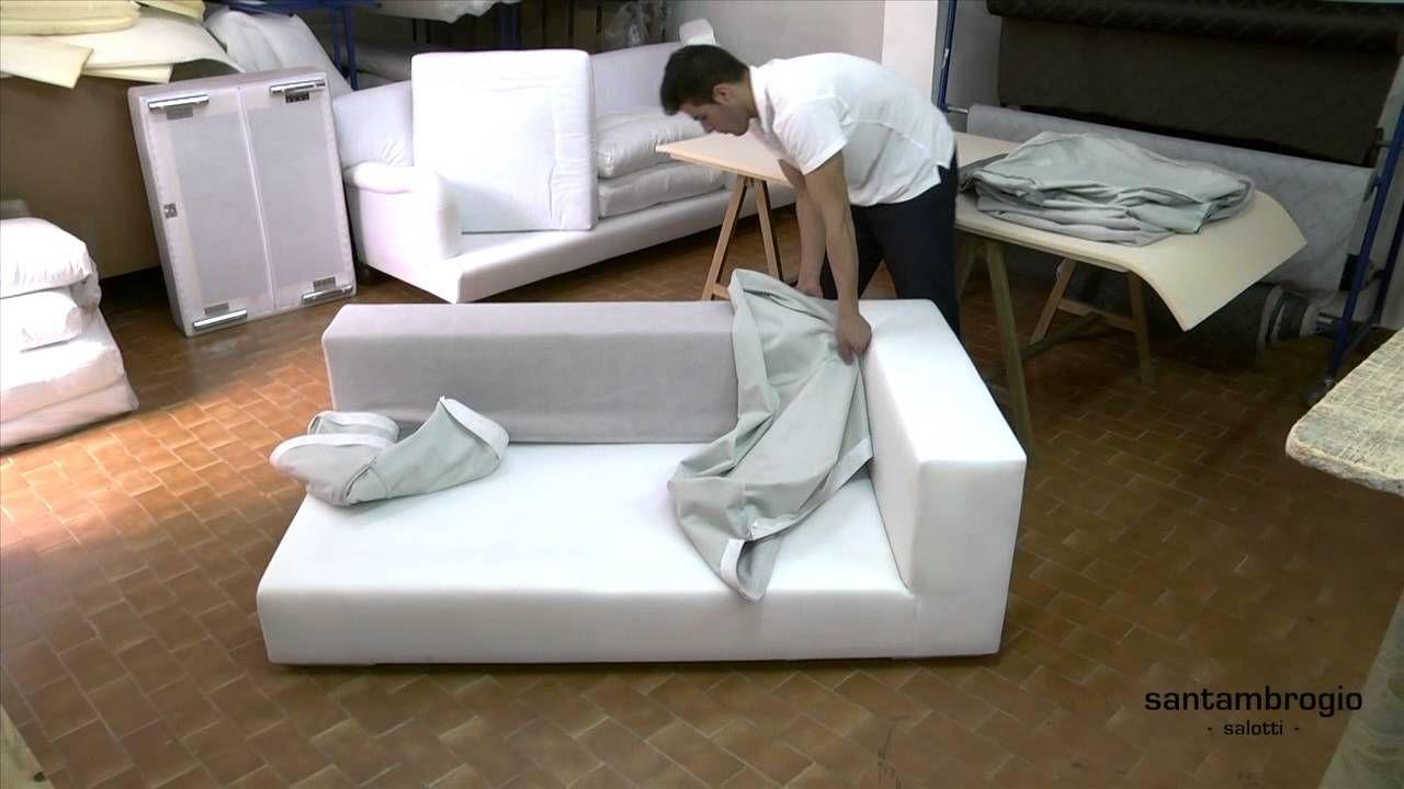 Foderare Divano ~ Togliere e rimettere la fodera di un divano santambrogio è davvero