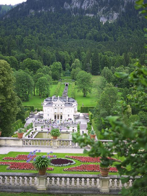 Schloss Und Park Linderhof Bavaria Germany By Catherinebythesea Beautiful Places Wonderful Places Places To Go
