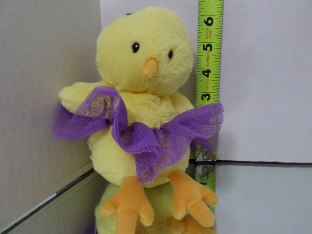 Gund Chic Plush Baby Chicken Chick Stuffed Animal Toy Doll Duck Bird