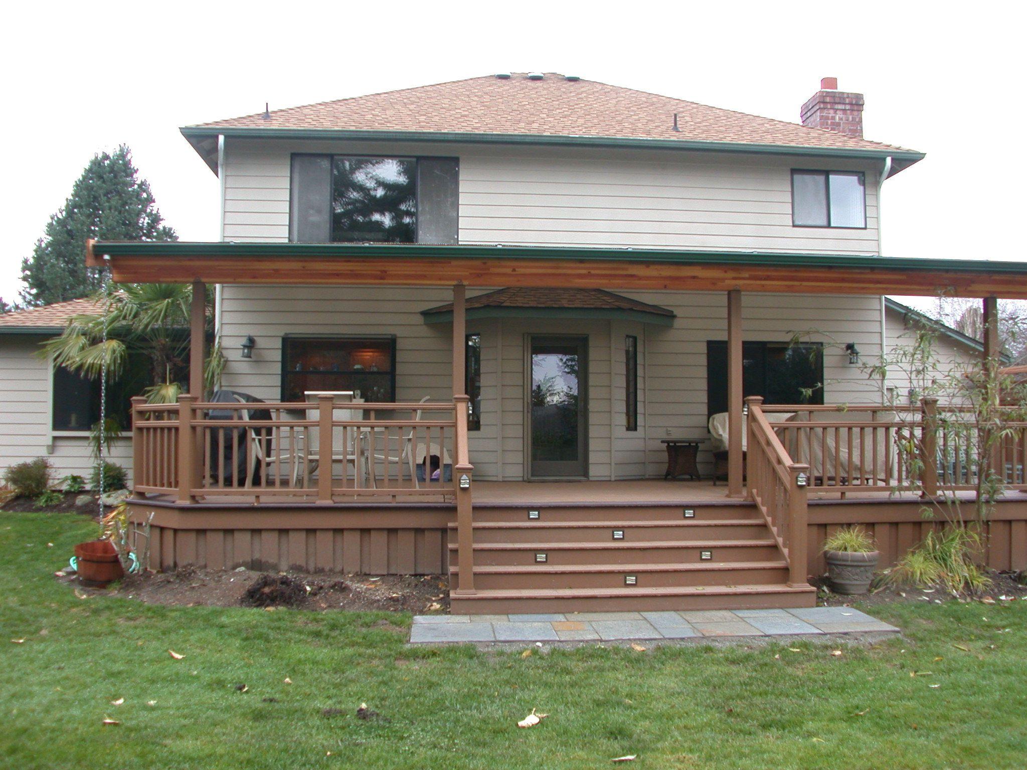pictures deck decks idea com woods ideas patio vermont