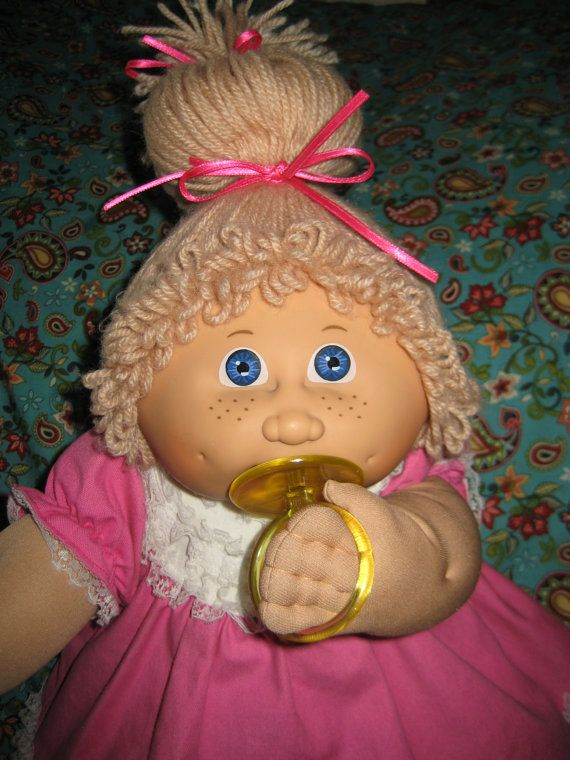 Jesmar Cabbage Patch Kid Girl Doll Paci Face Etsy Cabbage Patch Kids Dolls Cabbage Patch Kids Cabbage Patch Dolls