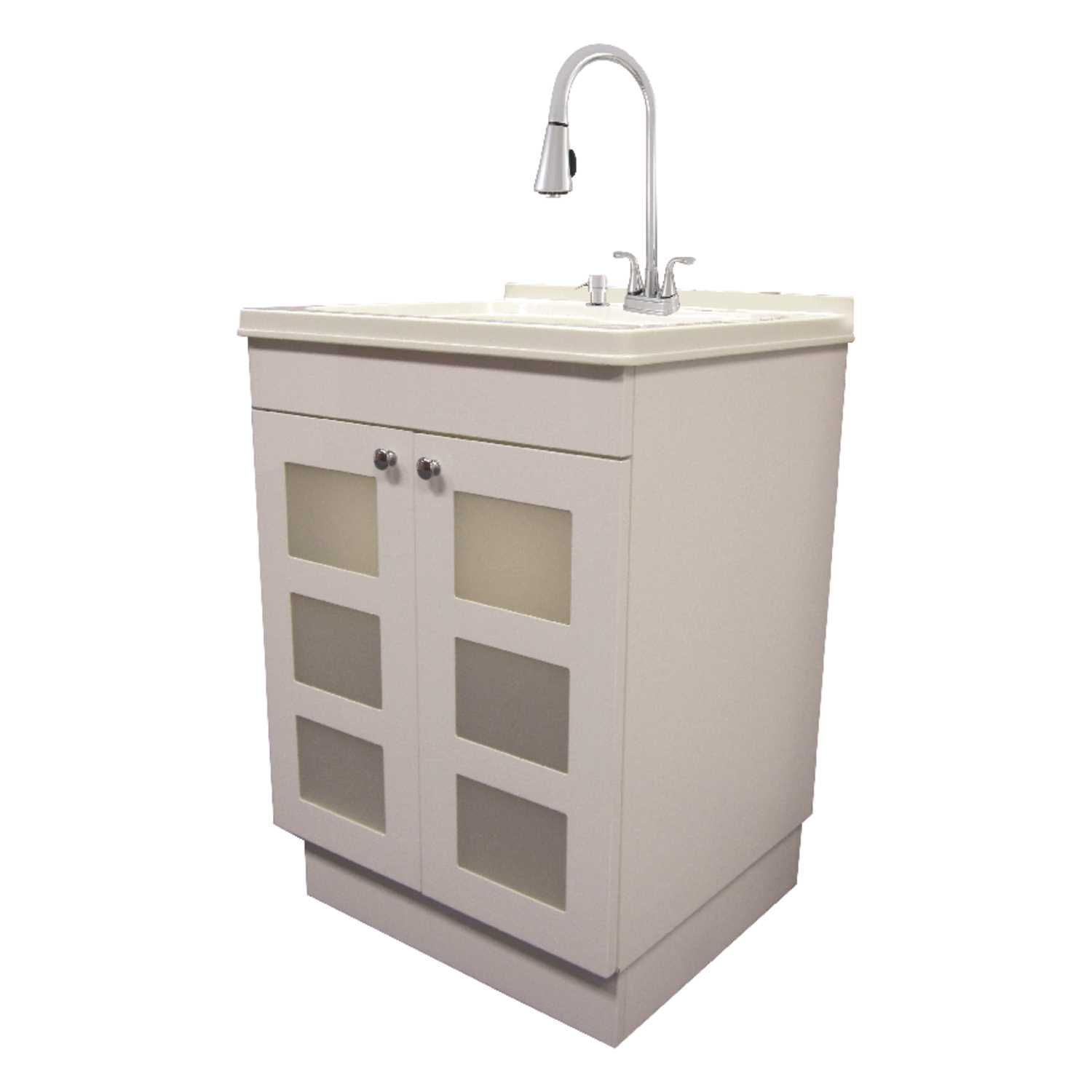 Exquisite Freestanding Melamine Faced Chipboard Utility Sink And