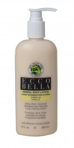 Organic Vanilla Herbal Body Lotion. No water in it.