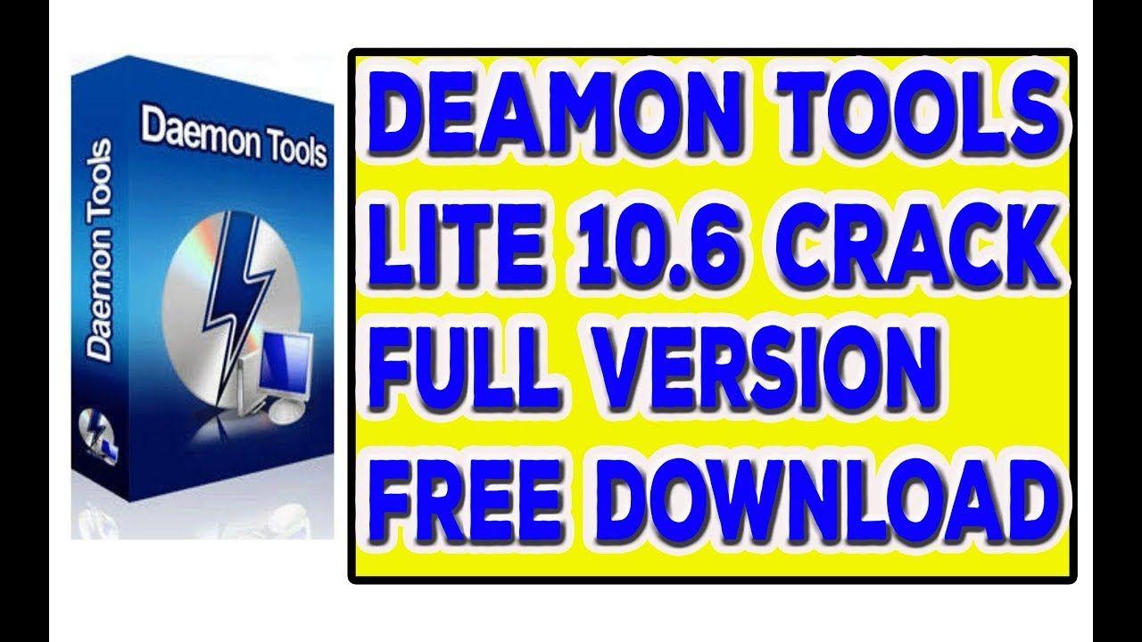 crack для daemon tools lite 10.6