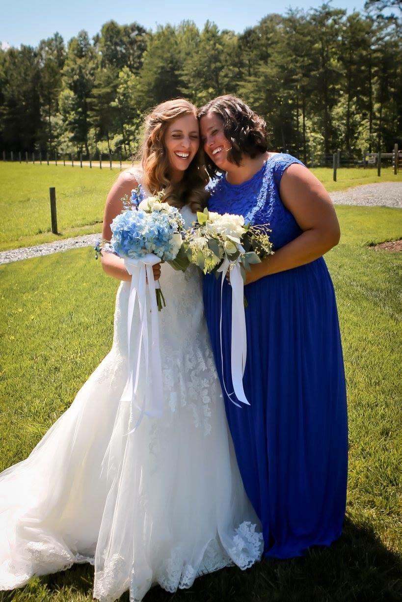 Stunning Courtney On Her Wedding Day To Handsome Groom Chris Spray