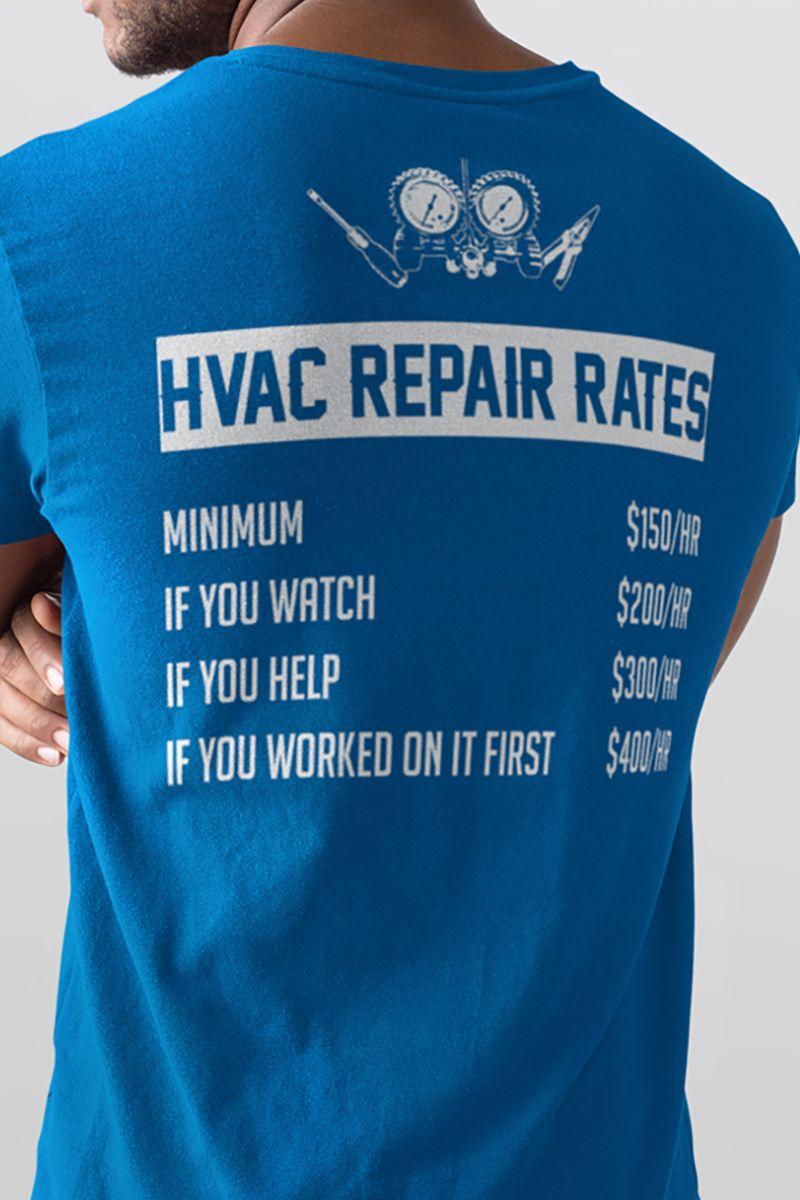 Hvac Tech Gifts Hvac Repair Rates Hvac Tech Gift Design Available On Tee Shirt Hoodie Tank Mug Sticker Long Sleeve Hvacte Hvac Repair Hvac Hvac Tech