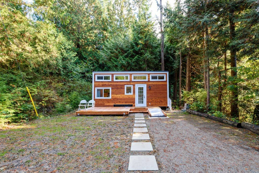 The Tize Tiny Home Tiny Houses For Rent In Roberts Creek