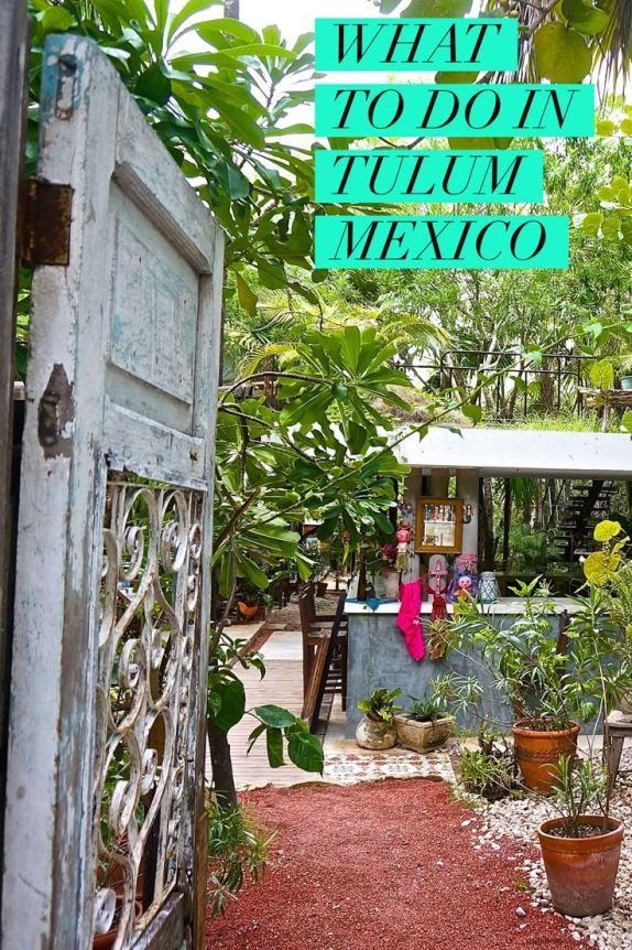 What To Do In Tulum, Mexico. There are some quirky ideas here--I like that it avoids the obvious sites like the famous ruins!