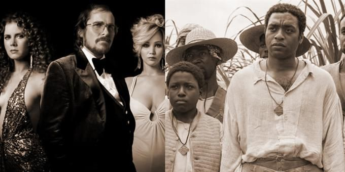 12 YEARS A SLAVE, AMERICAN HUSTLE top best films at 2014 Golden Globes while HUSTLE, DALLAS BUYERS CLUB, BLUE JASMINE land top actors