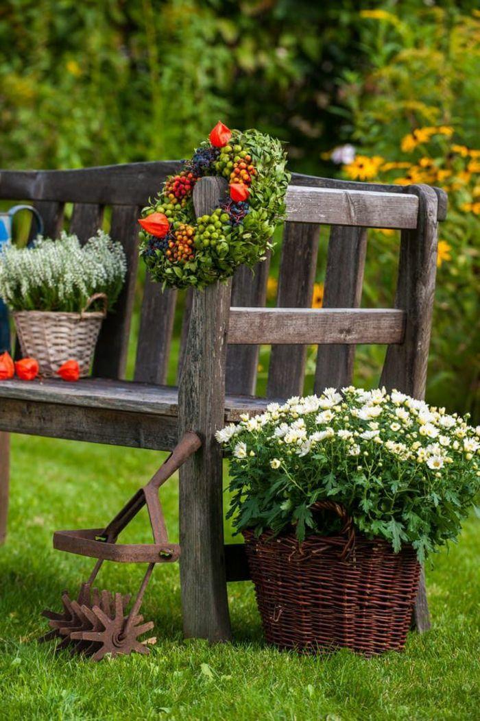 1001 ideas sobre c mo decorar un jard n peque o jardiner a pinterest como decorar el Jardines rusticos pequenos