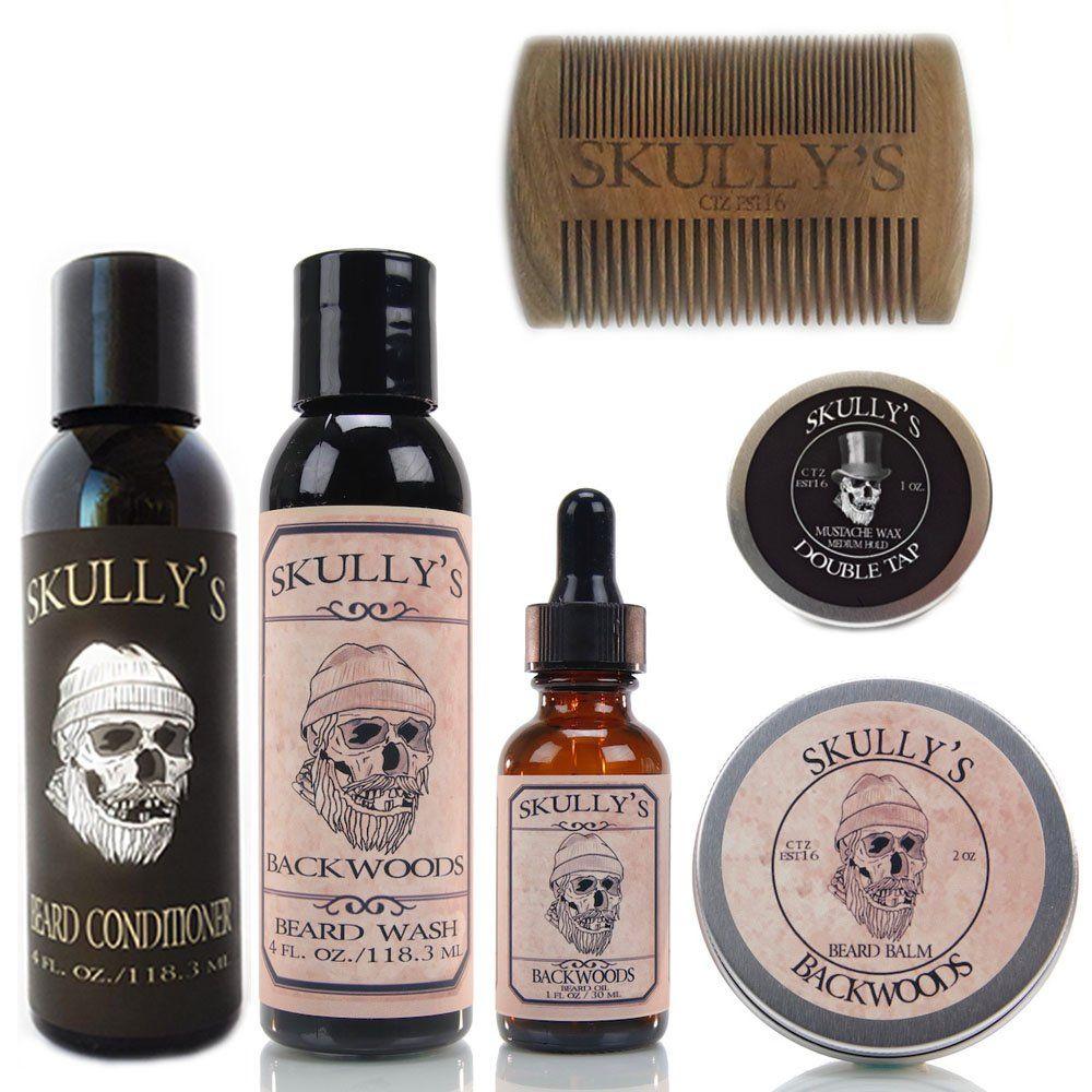 Skullys Backwoods Ultimate Beard Care Kit beard kit for