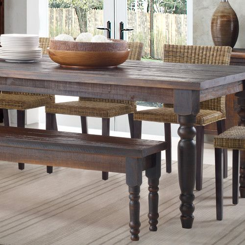 Valerie Wood Bench Wood Dining Bench Solid Wood Benches Dining Table With Bench