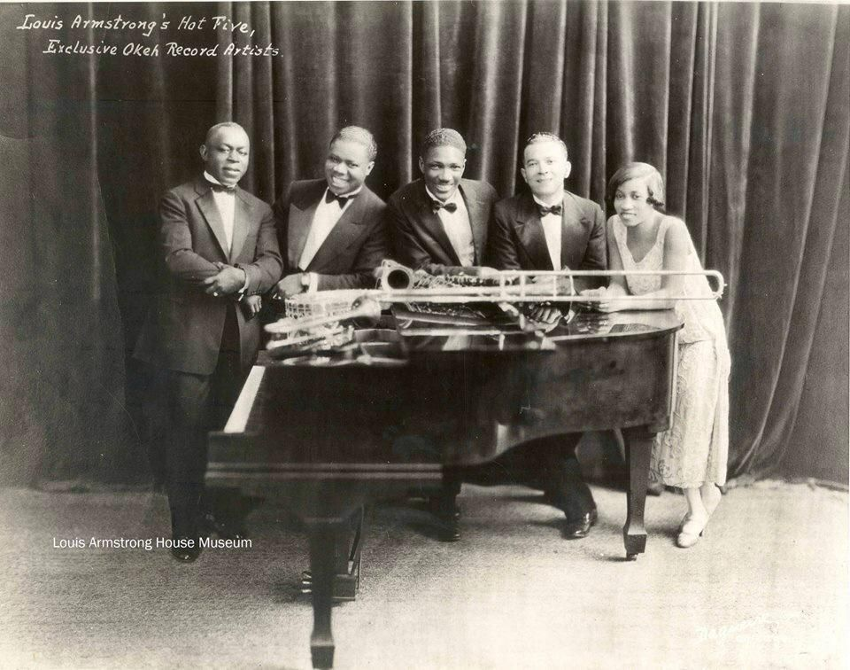 The band that changed the sound of American popular music: Louis Armstrong and his Hot 5!