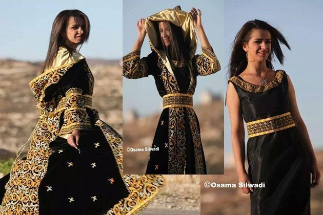 سعدية عجاج تحيك الثوب الفلسطيني بلمسات عصرية شبكة نوى مرأة Embroidered Dress Fashion Style
