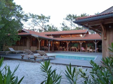 maison de charme au coeur du cap ferret - Bassin d\u0027Arcachon - location maison cap ferret avec piscine