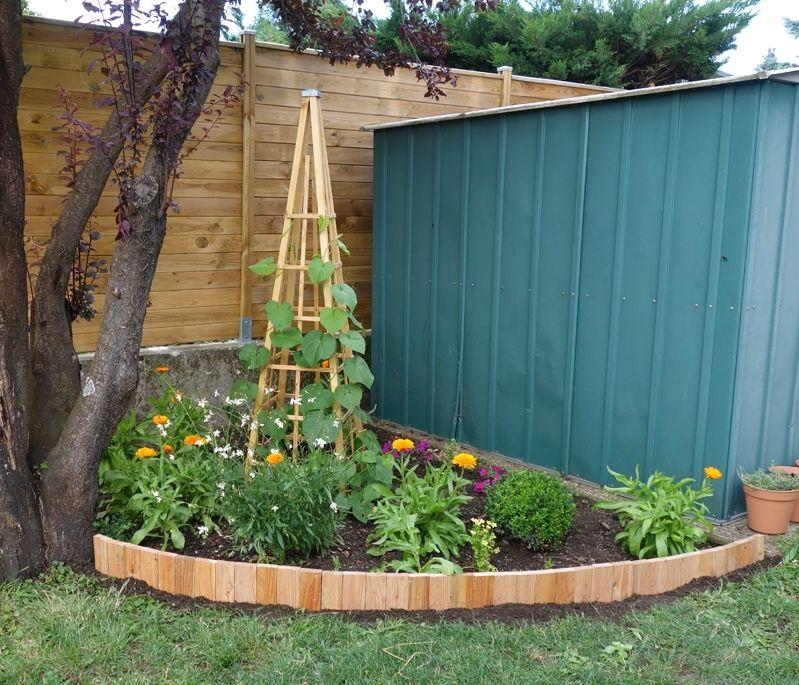 Diy Une Bordure Souple Le Blog De Bea Bordure Jardin Deco