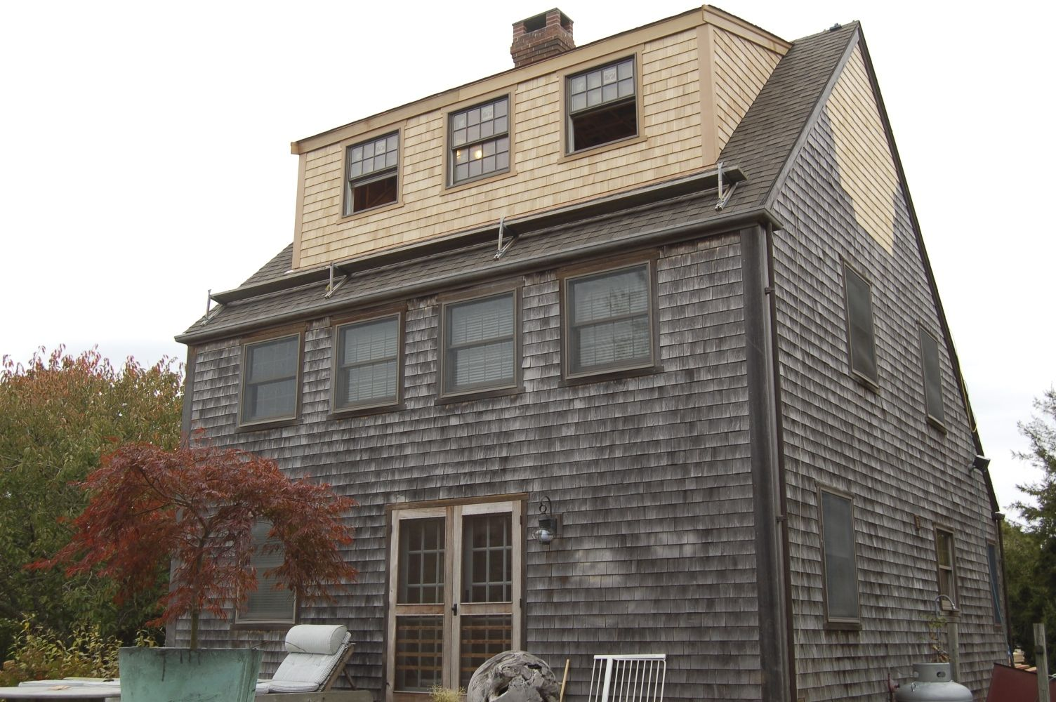 Building a dormer on a house - Third Floor Shed Dormer