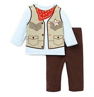 Little Me Baby Boys Cowboy Pants Set At Www Younkers Com 3 Kids