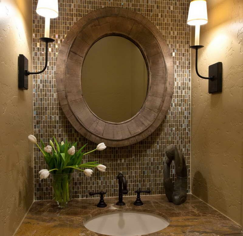 The 25 Best Powder Room Decor Ideas On Pinterest Half