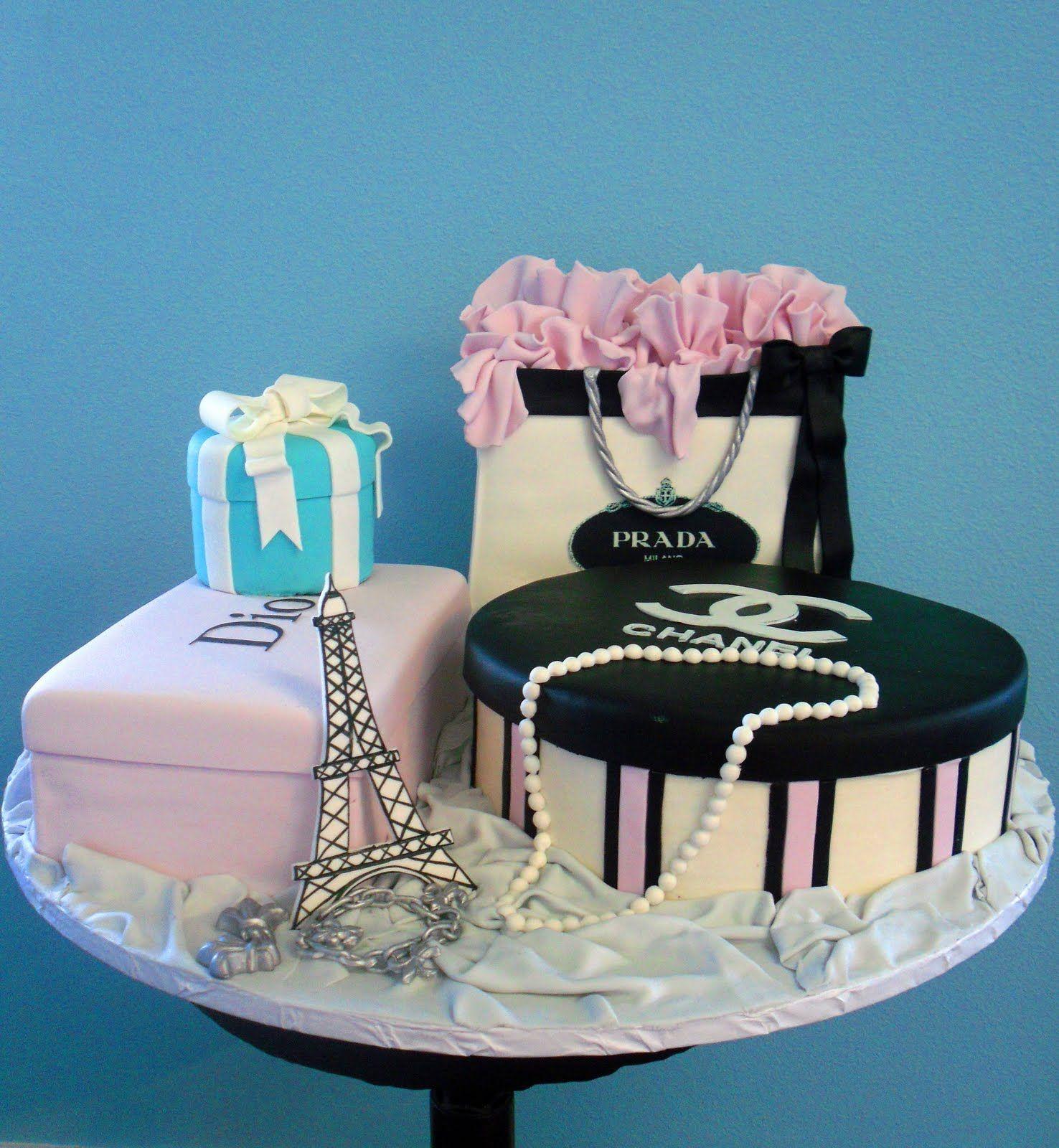 Cake Channel Dior Designer Birthday Cakes Pinterest Dior Cake