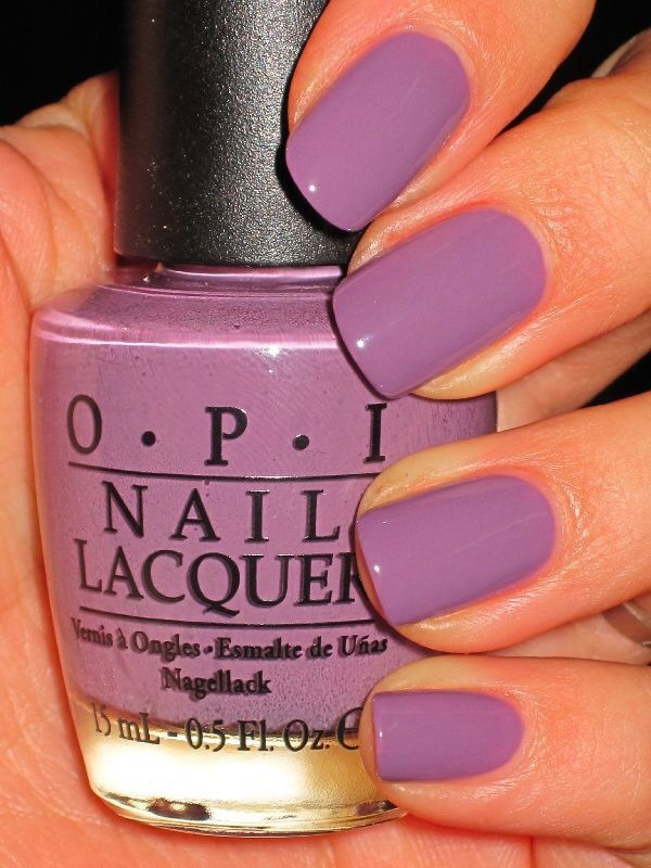 0f2cec14260388 A great lavender shade of nail polish from OPI