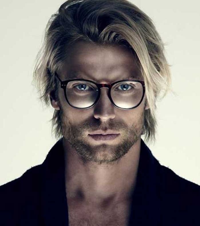 21++ Coiffure homme long blond inspiration