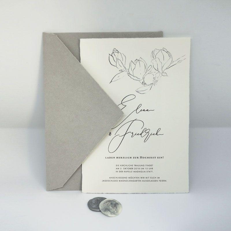Einladung Hochzeit Vintage Hochzeitseinaldung Auf Buttenpapier Einladung Hochzeit Vintage Einladungskarten Hochzeit Einladungen Hochzeit