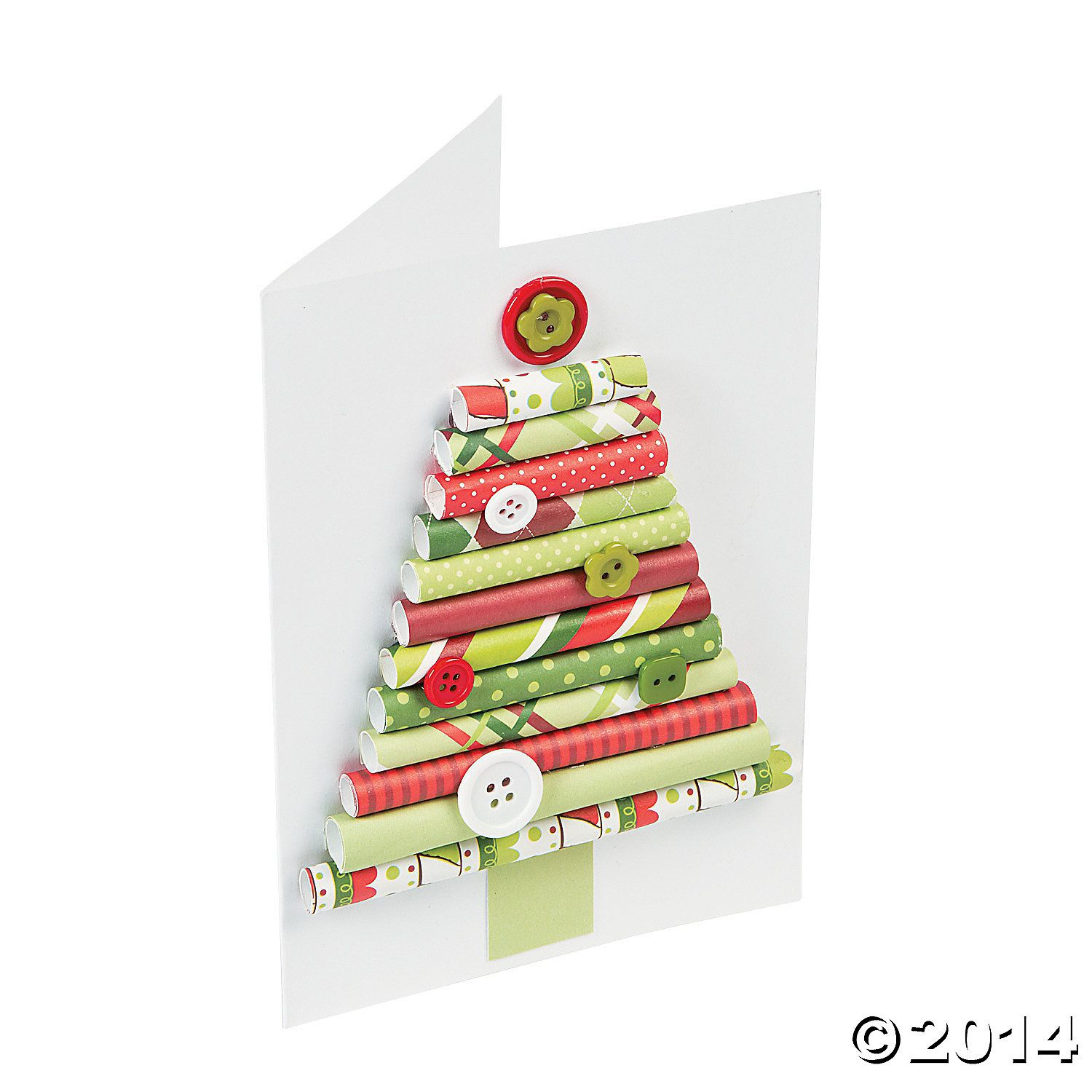 Rolled+Paper+Christmas+Tree+Card+ +Orientaltradingcom