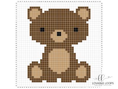 Crochet Bear C2C Baby Blanket #c2cbabyblanket Crochet Bear C2C Baby Blanket - Lovable Loops #c2cbabyblanket Crochet Bear C2C Baby Blanket #c2cbabyblanket Crochet Bear C2C Baby Blanket - Lovable Loops #c2cbabyblanket
