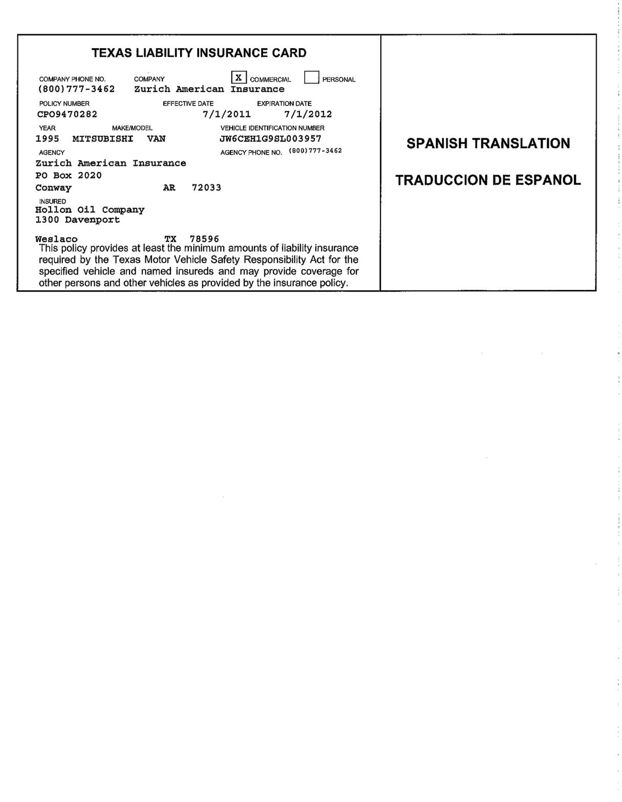 Progressive Car Insurance In Florida The Story Of Progressive Car Insurance In Florida Has J In 2020 Id Card Template Progressive Car Insurance Card Template