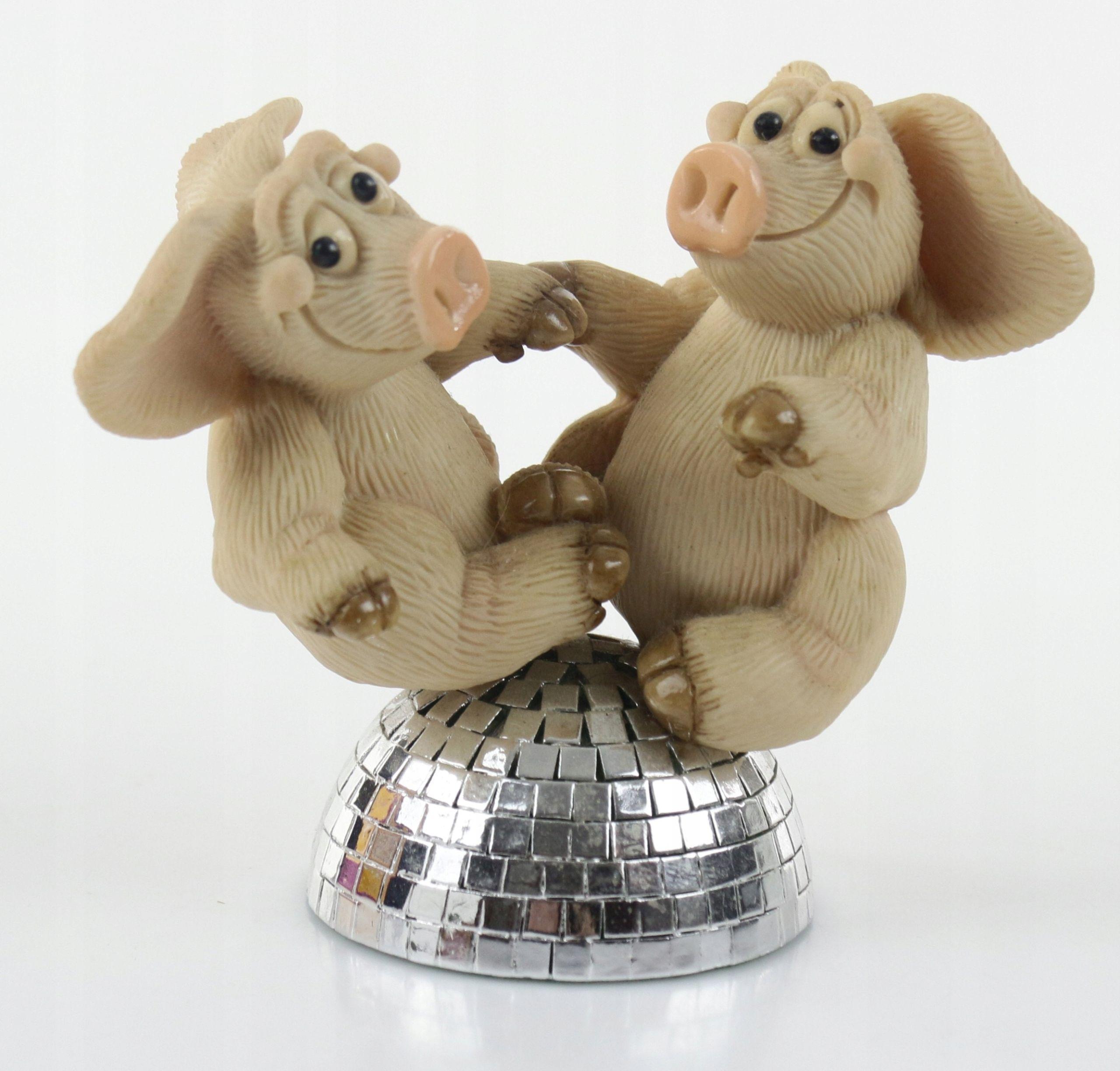 Pchli Targ Figurki Swinki Piggin 7917827061 Oficjalne Archiwum Allegro Teddy Bear Teddy Animals