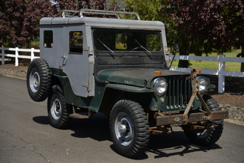 1952 Cj3a With A Koenig Hardtop Willys Willys Jeep Overlanding
