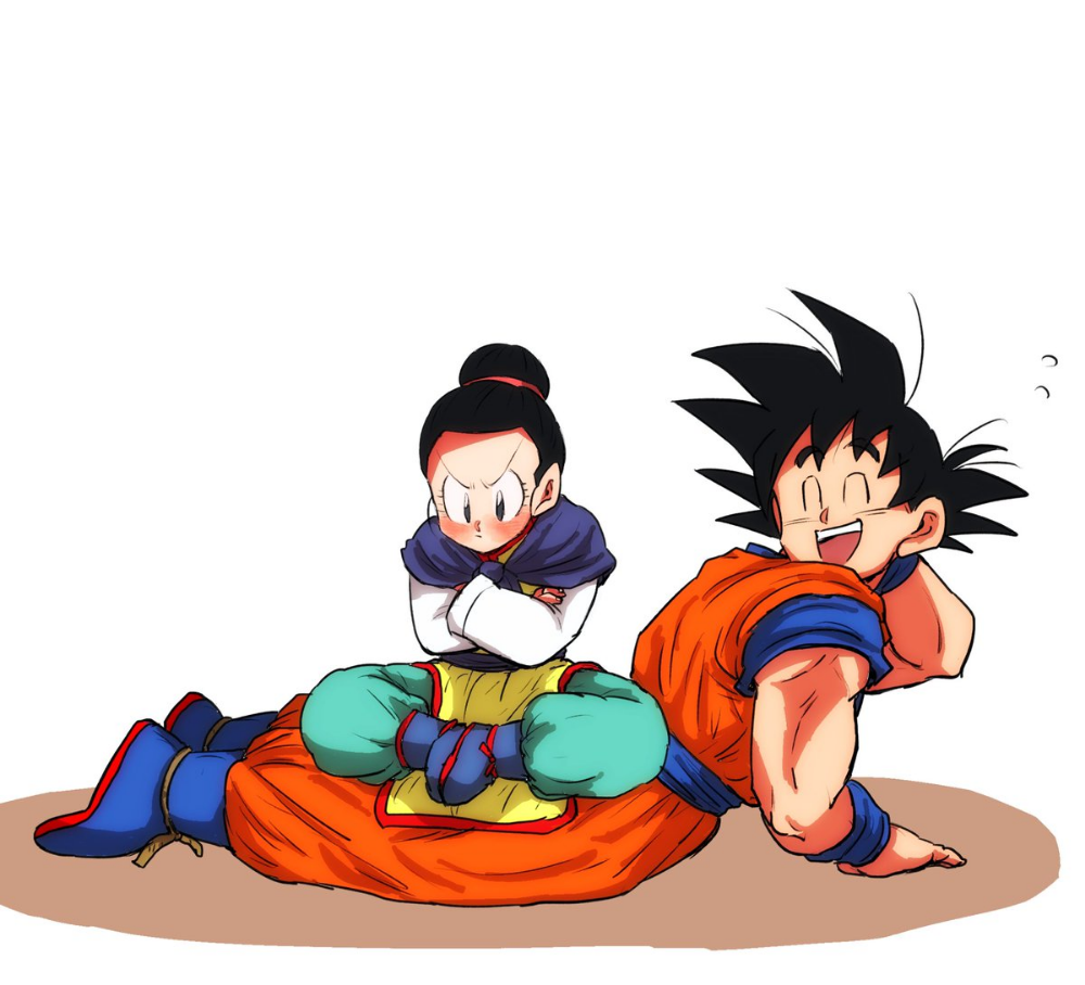 Chi Chi Milk Goku Gochi Gochi Fanart Anime Dragon Ball Dragon Ball Artwork Dragon Ball Art