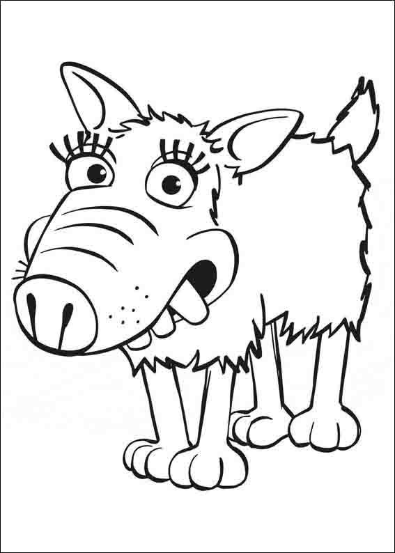 Shaun The Sheep Coloring Pages 7 Cizim
