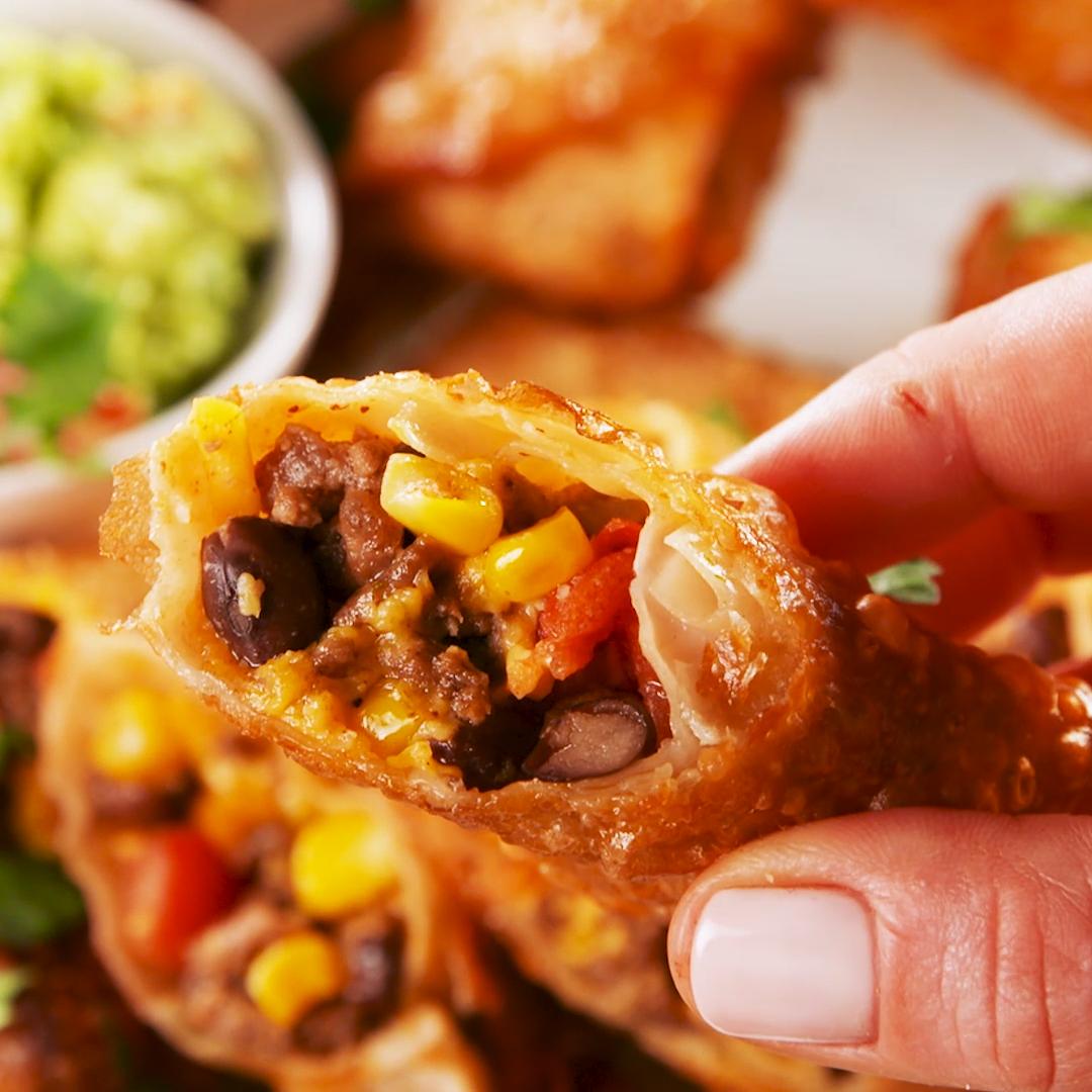 Burrito Egg Rolls #eggrolls