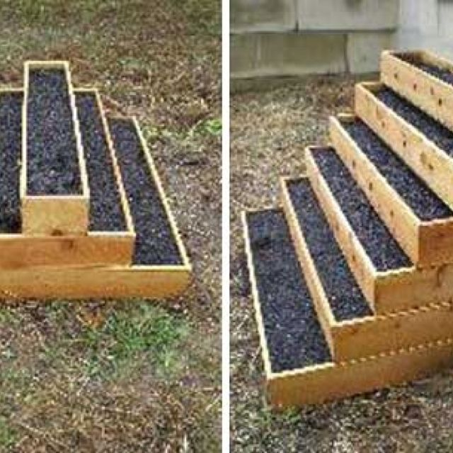 Awesome Small Space Garden Bed Design!