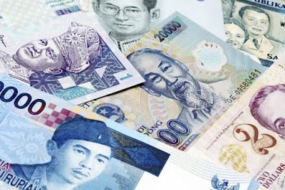 Daftar Nama Mata Uang Negara Asean Asia Tenggara Lengkap Uang Asia Tenggara Asia