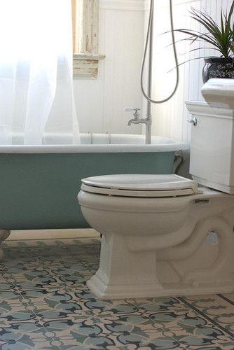 Charmant Encaustic Cement Tiles   Mediterranean   Bathroom   Mexico City   By  Original Mission Tile