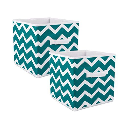 Dii Foldable Fabric Storage Containers For Nurseries Offices Closets Home Decor Cube Organizers Everyday Storage Needs Larg Fabric Storage Bins