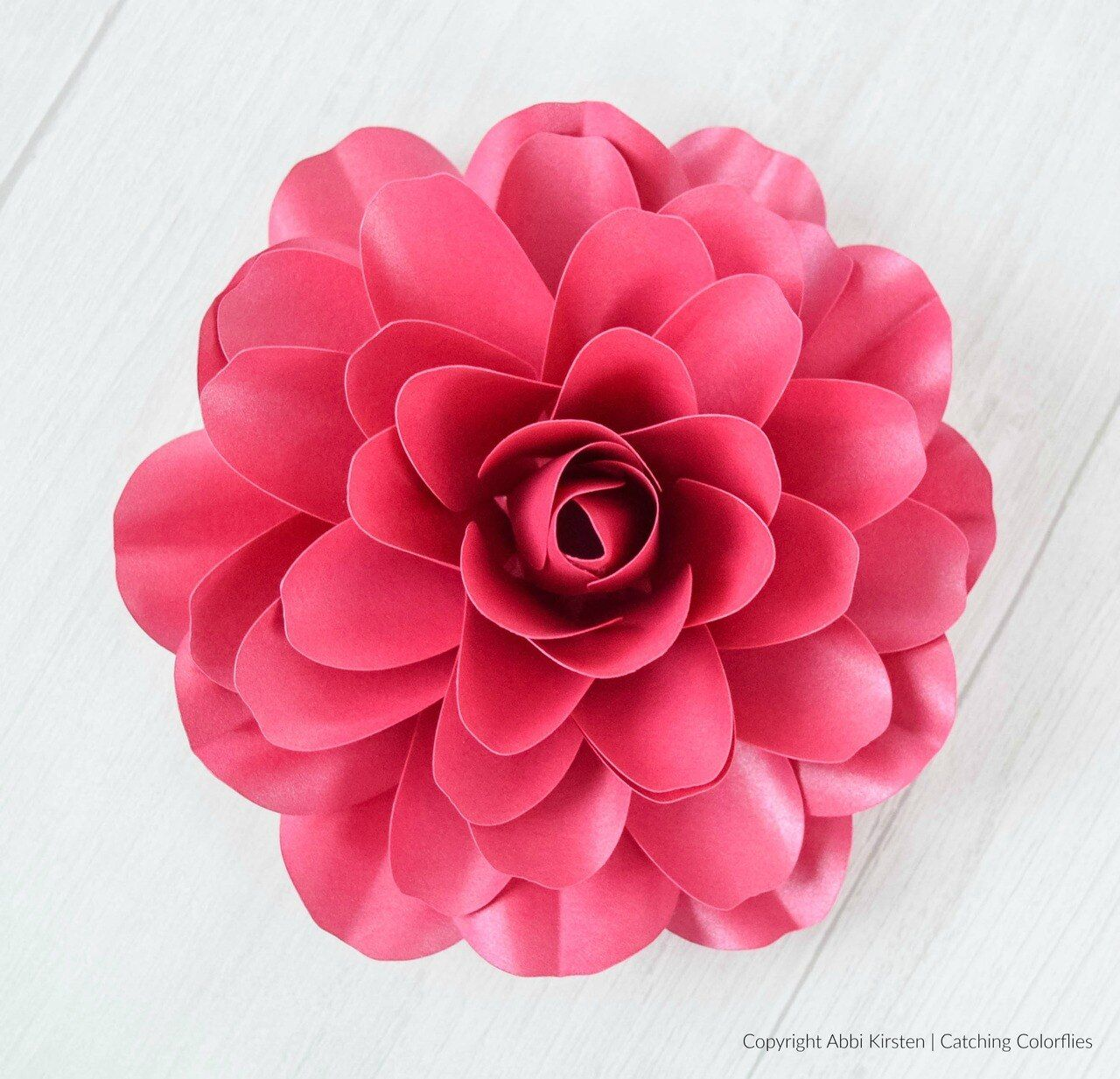 Camellia Paper Rose Template Paper Roses Flower Tutorial Paper Flower Tutorial