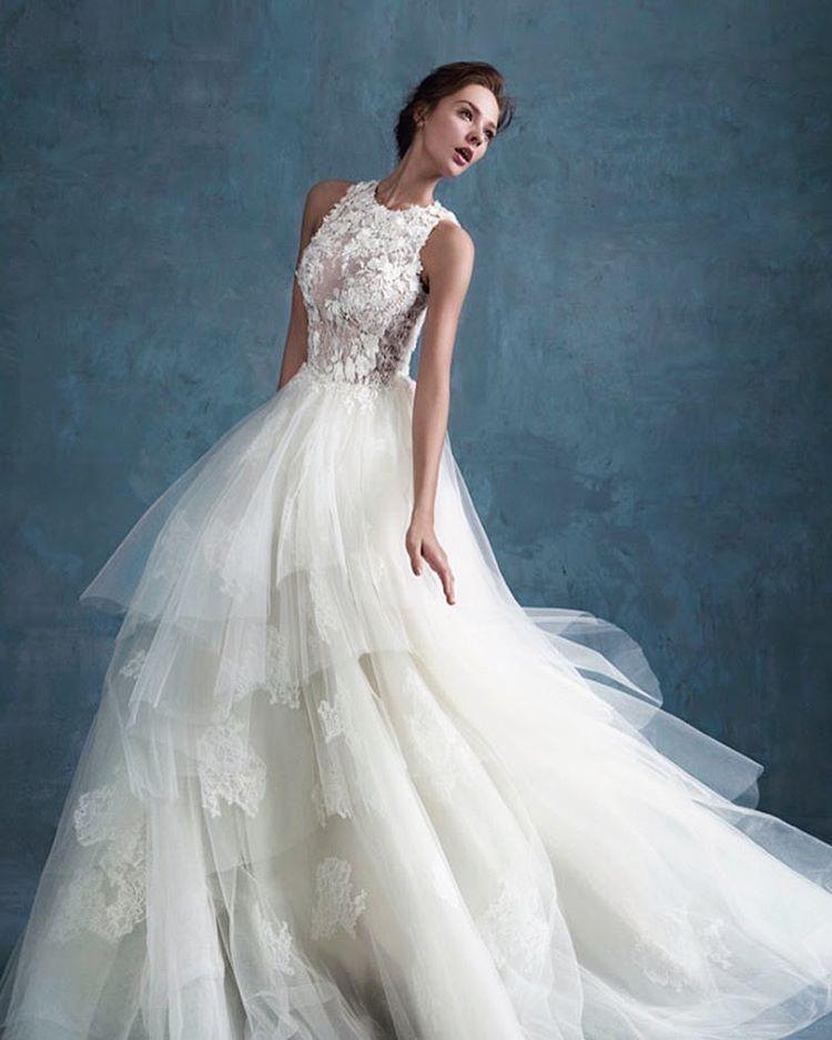 Dreamy, elegant and stylish, this wedding dress from Shine Moda is ...